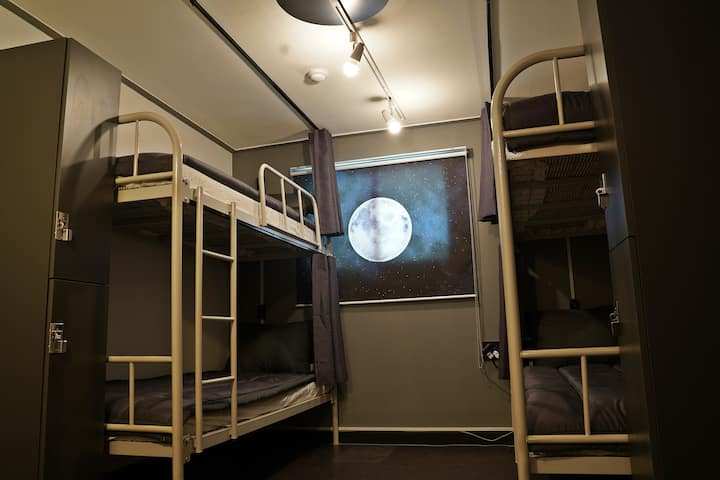 [SALE] 4 Bed Mixed Dormitory Bed with Bathroom