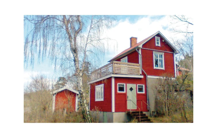 Holiday cottage with 1 bedroom on 38m² in Ljusterö
