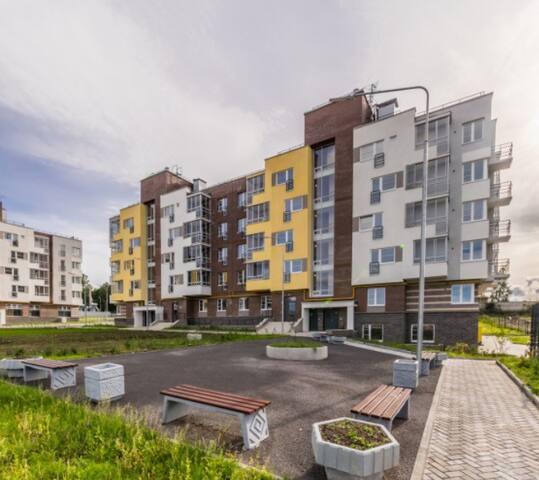 Новая квартира в самом центре у парка