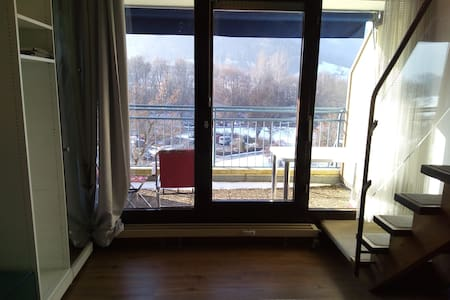 46qm-App. in 4 star Hotel, 30min Messe Stuttgart - Bad Urach - 公寓