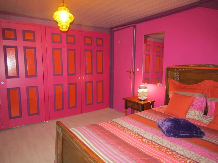lovely indian bedroom