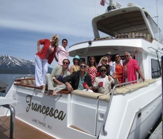 Custom Luxury Yacht - Private Charter Excursions