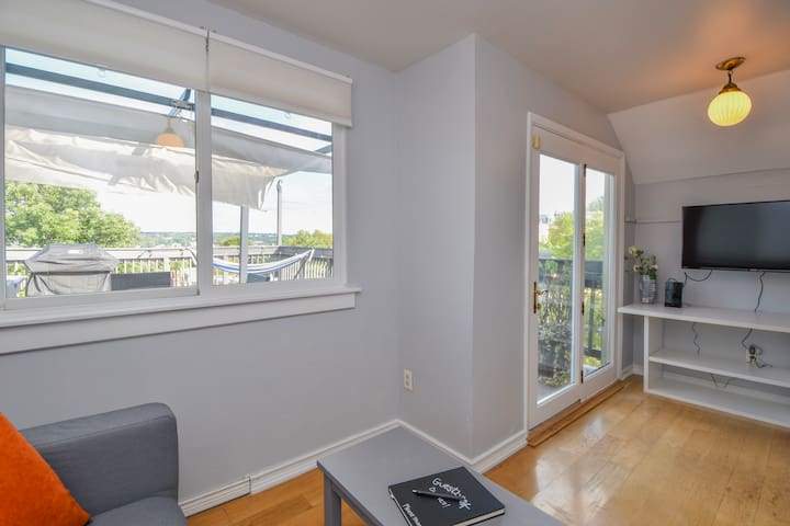Rooftop Deck Living Area