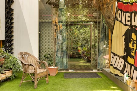 green studio 1BHK apartment new Delhi CoronaV safe