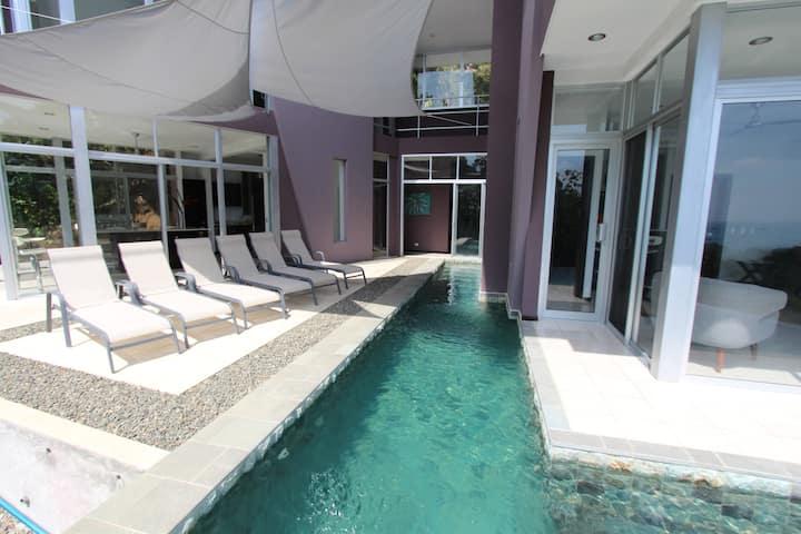 Luxury Private Villa with Ocean & Jungle Views!!