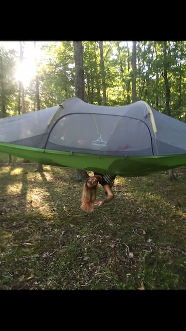 Suspended Tree House Tent, Tent Hammock, Tree Tent ...