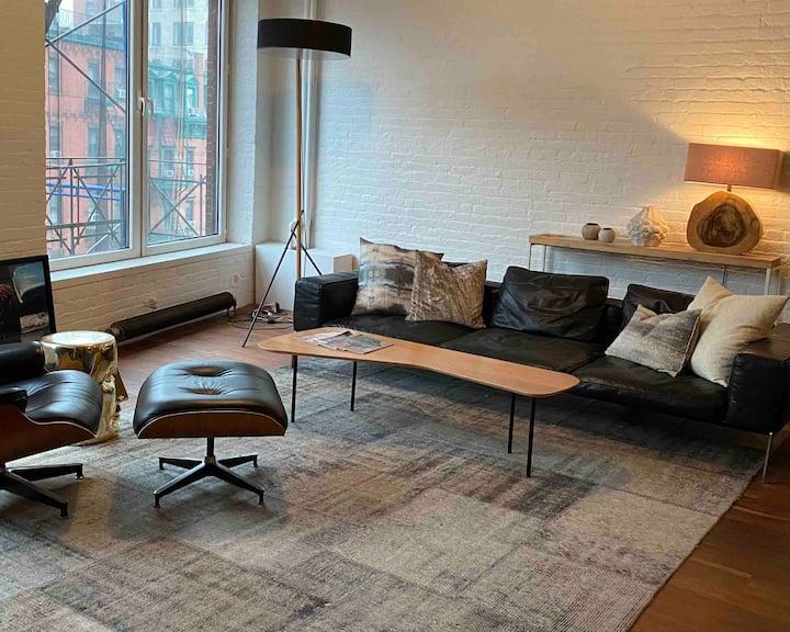 Authentic Soho Artist Loft 2 Bedroom Apartment