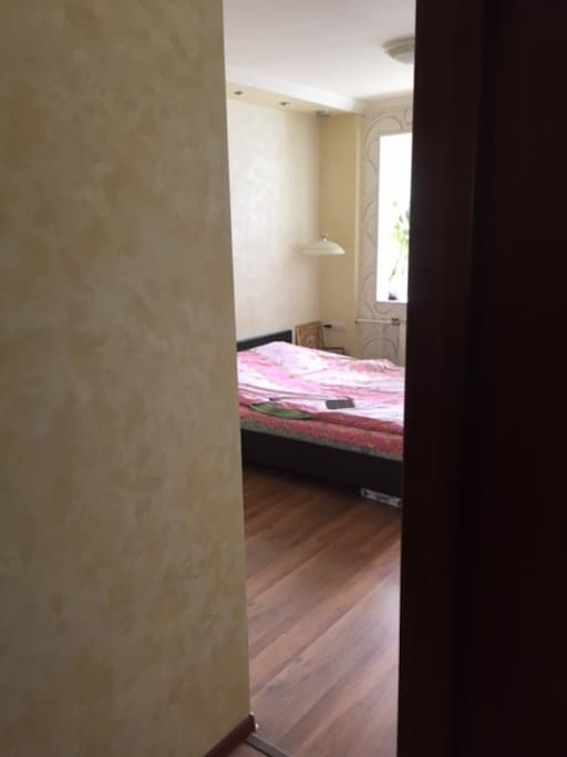 Спальня с гардеробной Bedromm with dressing room