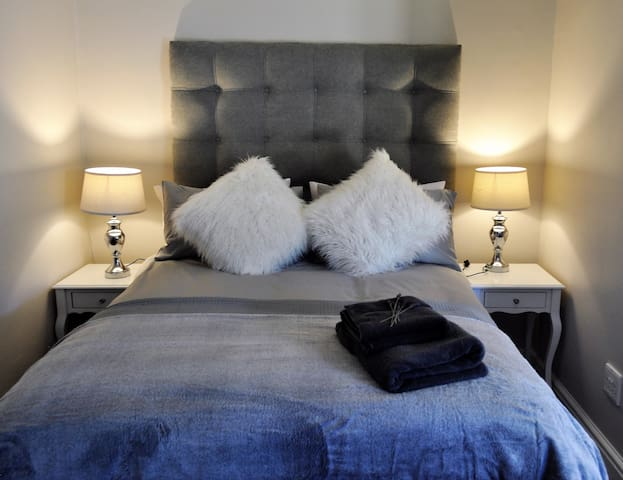 Luxurious and comfortable double bed