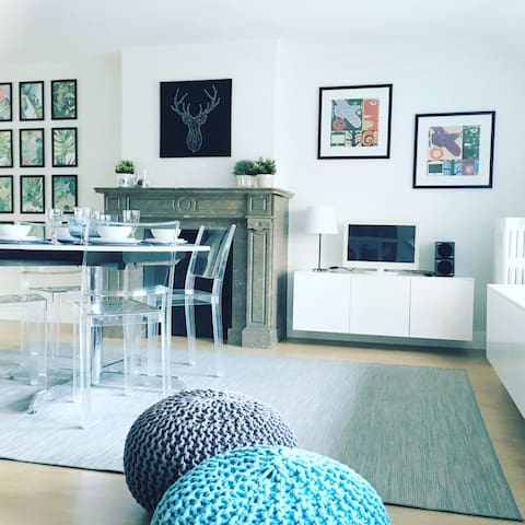 New - 1 bedroom apartment downtown (1-4 pers)