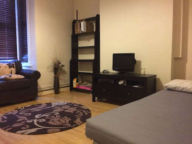 Large bed-sitting room in North West London