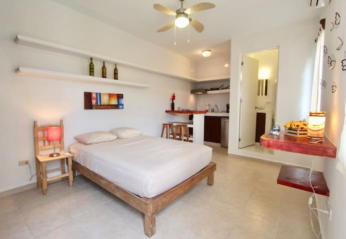 Studio - Top location A/C, Wifi #3G - Playa del Carmen - Appartement