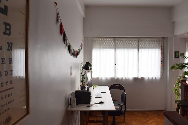 Departamento entero (monoambiente/studio)  en Once