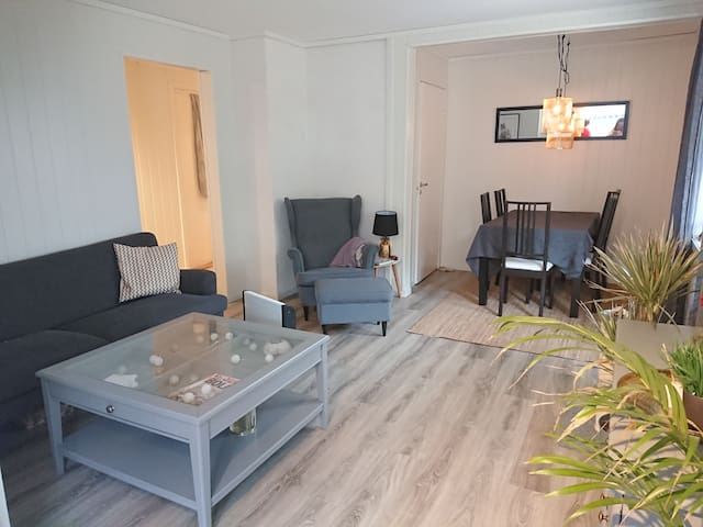 Apartment close to Kristiansand city and the zoo