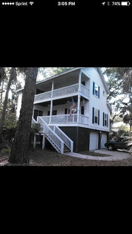3 bd/2 ba Private Island retreat! - Fripp Island - Hus