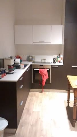 Fully equipped kitchen - including awesome espresso machine!