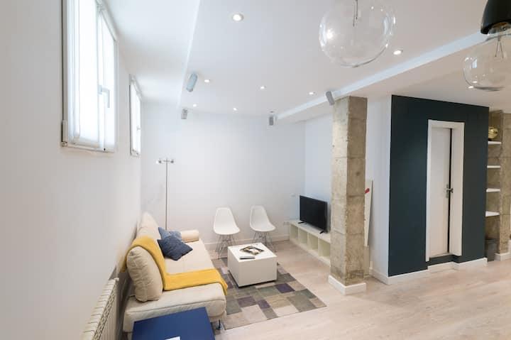 Modern loft in the heart of Madrid
