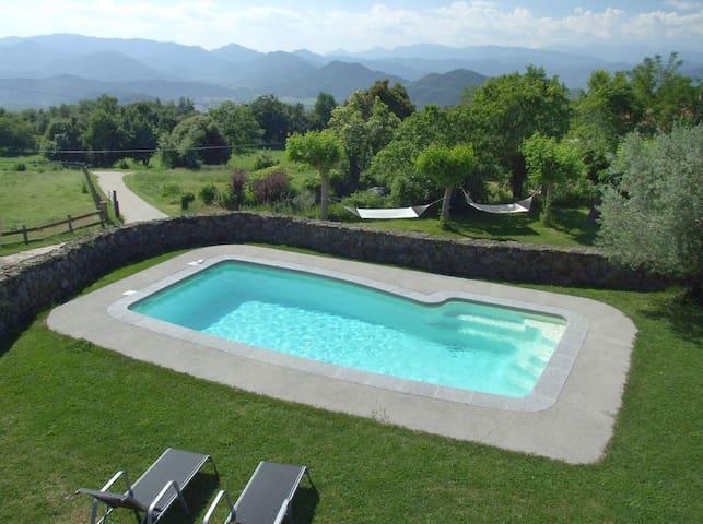 CASA AGRORUAL CON PISCINA EN OLOT PG000692 - Batet de la Serra - 別荘