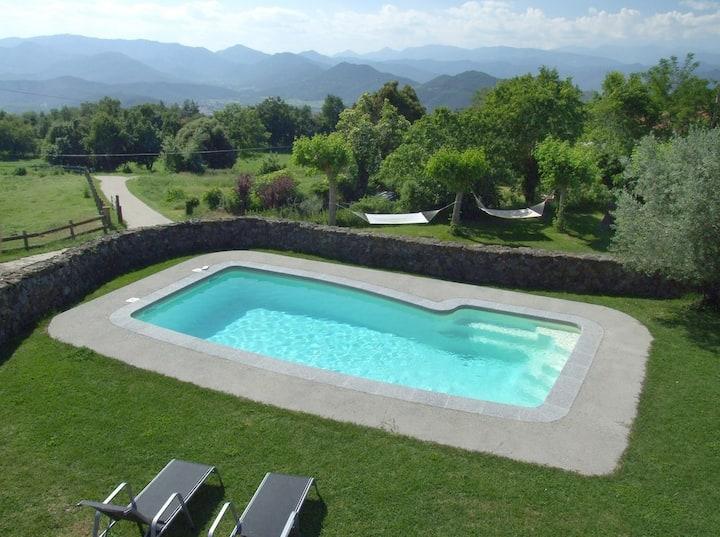 casa rural con piscina a Olot  PG000692