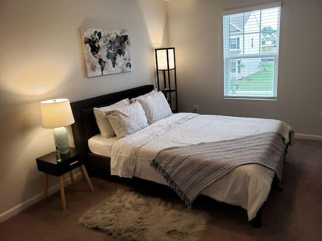Brand New Private Bedroom&Bath near RTP/RDU- #2
