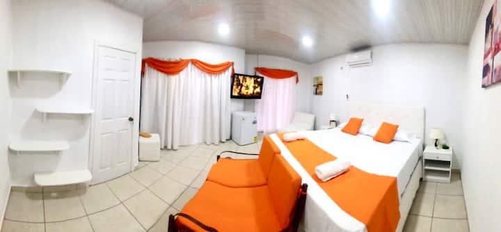 Suite privada en complejo residencial