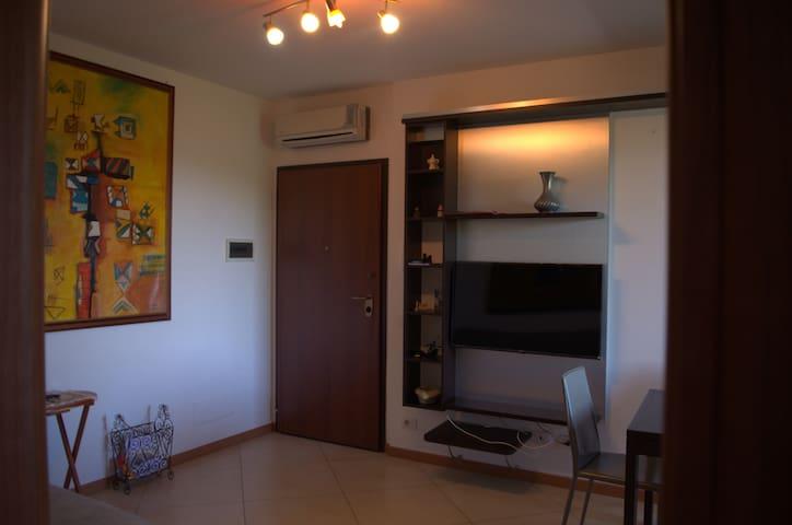 Appartamento con vista sul Chianti.