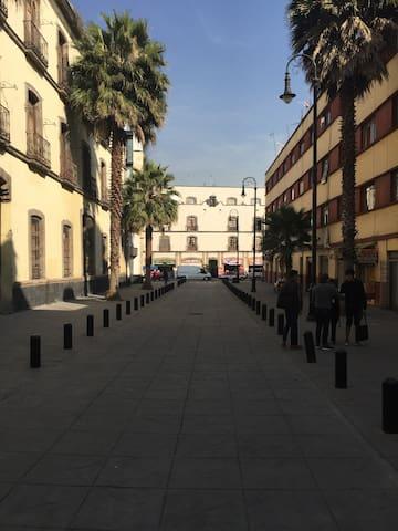 Antigua vecindad catalogada (Centro Histórico)
