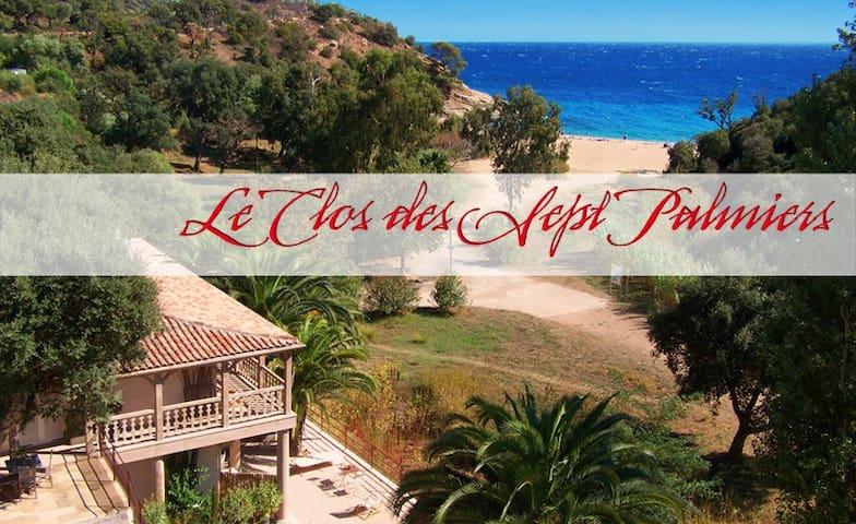 Le clos des sept Palmiers - Cavalaire-sur-Mer - Bed & Breakfast