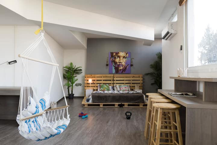 Dream Studio with Seaview and special offer