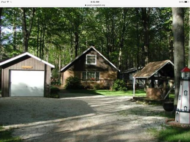Cozy Cottage on a quite wooded lot - Mears - Cabin