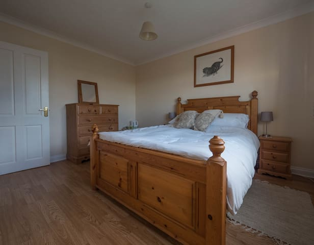 Double room in rural Herefordshire village - Little Dewchurch - Casa