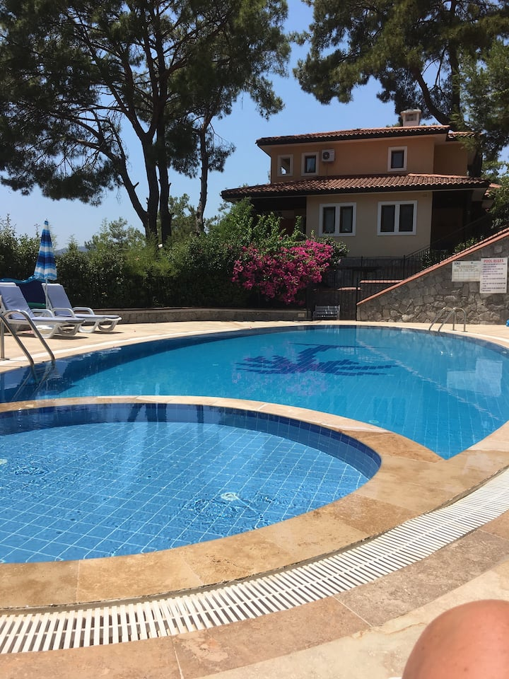 3 bedroom villa in beautiful town of gocek turkey