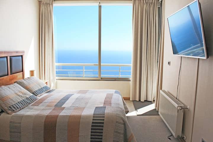 Vista Mar, Piscina Depto #1 Reñaca (English)