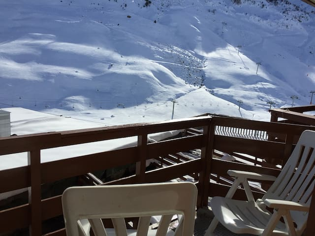 STUDIO pied des pistes MONGIE TOURM - Bagnères-de-Bigorre - Leilighet