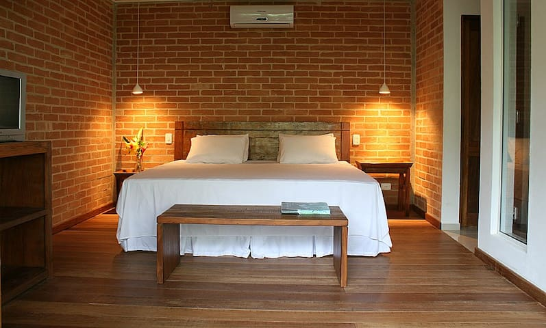 Flat Camburi-Flat 200m praia-Master2 piso superior