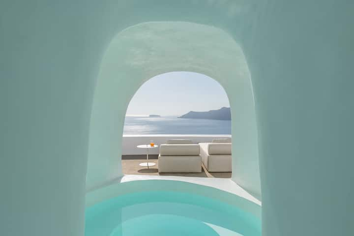 Element  Suite with private caved  plunge pool