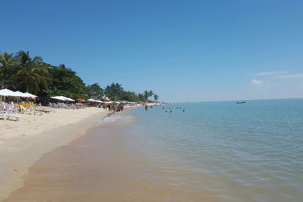 1 minuto da praia