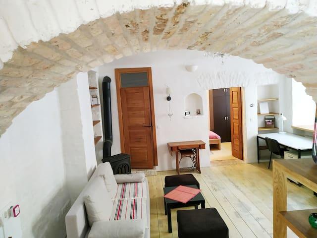 40m2 Medieval Old Town/Užupis Apartment