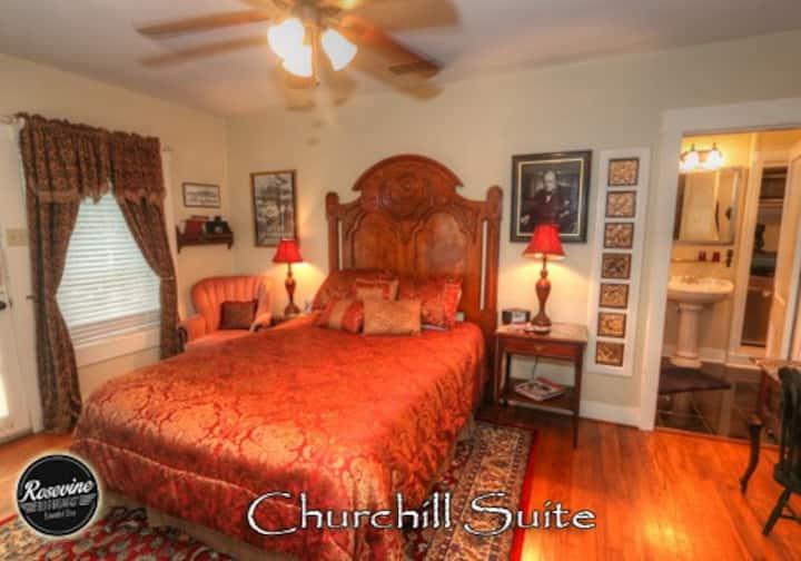 Churchill Room at Rosevine BnB