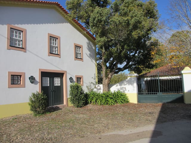 renovated old horse stables as cozy cottage - Vila Nova de Poiares - Stuga