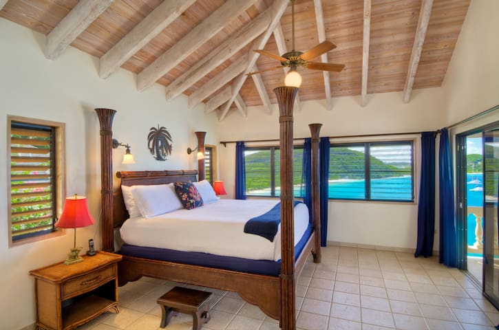 The Bali 2 King Suite has views of beaches and islands, a love seat, kitchenette, and covered patio, plus an al fresco shower.