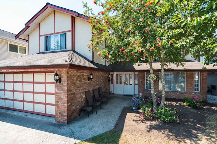 Cozy Room by  YVR Canada Line
