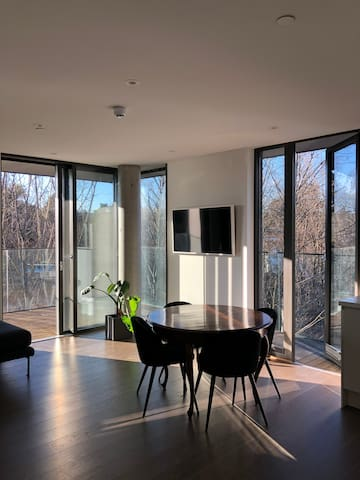 New, light and modern 2 BR apt with high standard