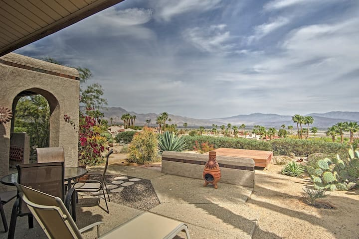 Borrego Springs Townhome w/ Patio & Mountain Views