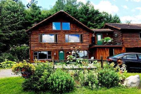 Log Home in a Country Setting Close to Burlington