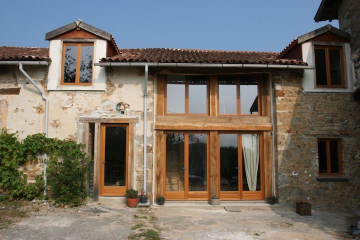 Chambre d'hôtes Le Queyroix-Martin - Vaulry - Bed & Breakfast