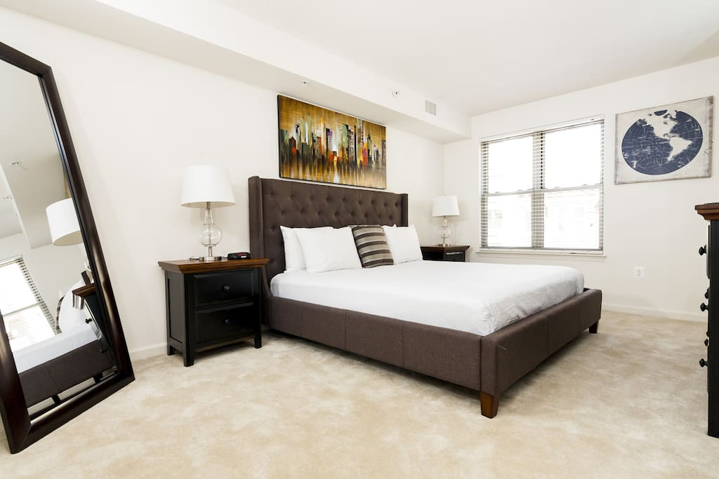 Bedroom at The Varsity on K by Stay Alfred