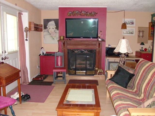 Private entrance main floor suite with deck & BBQ. - Huntsville - Apartment
