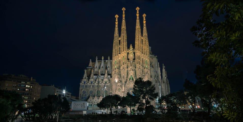 圣家族大教堂经典公寓 - Barcelona - Daire