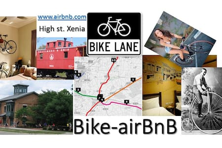Bike AirBnB 2 rooms